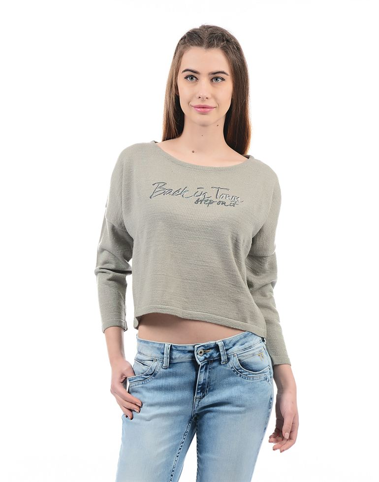 Species Women Grey Top