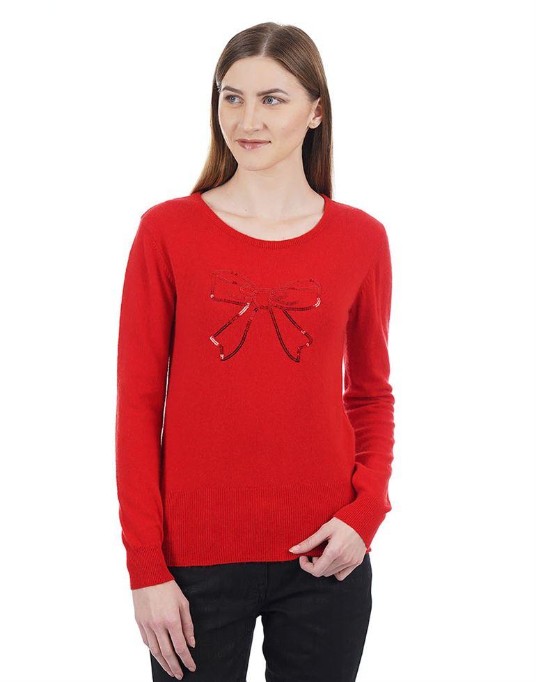 Species Women Casual Wear Solid Sweater