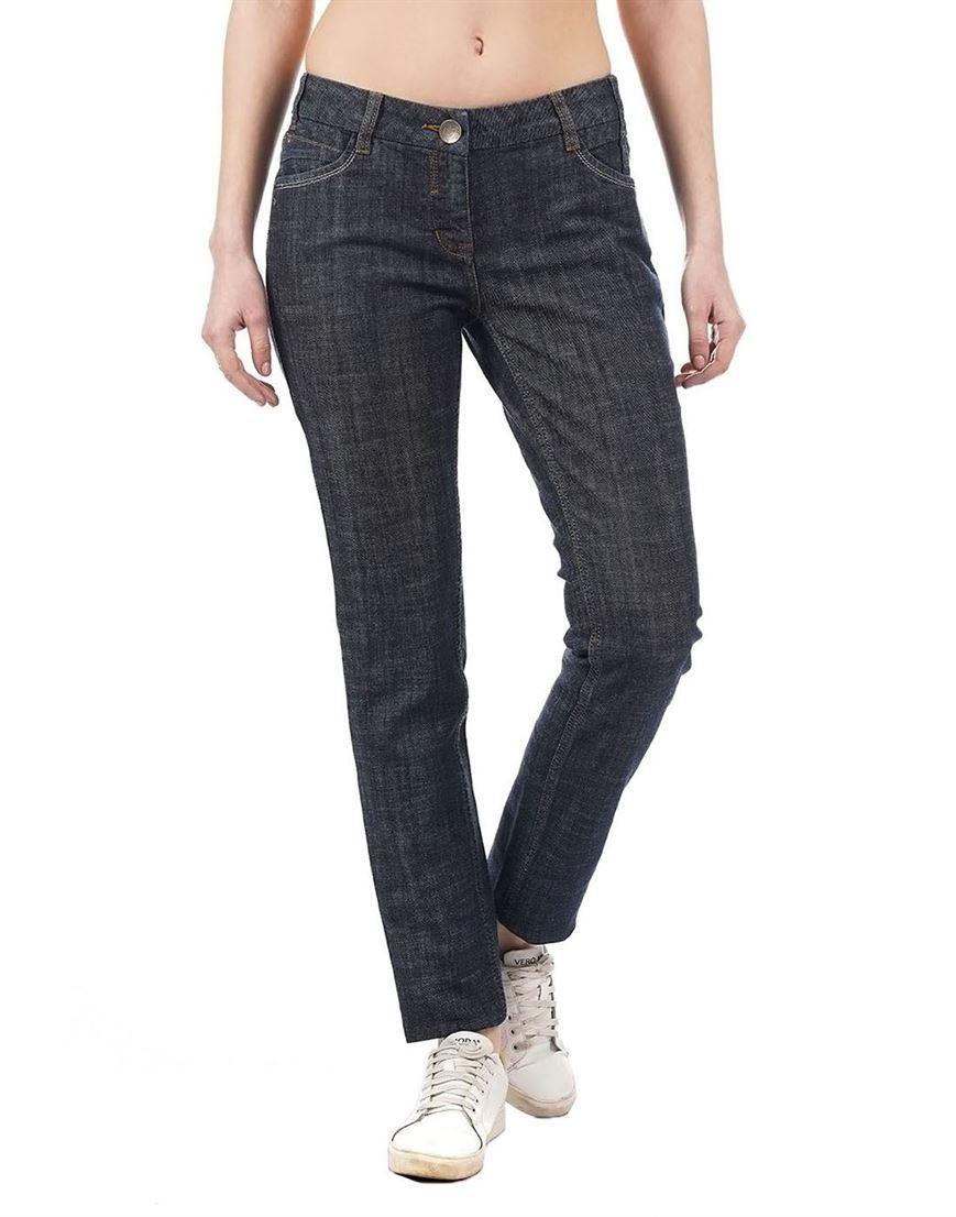 Species Women Blue Solid Jean
