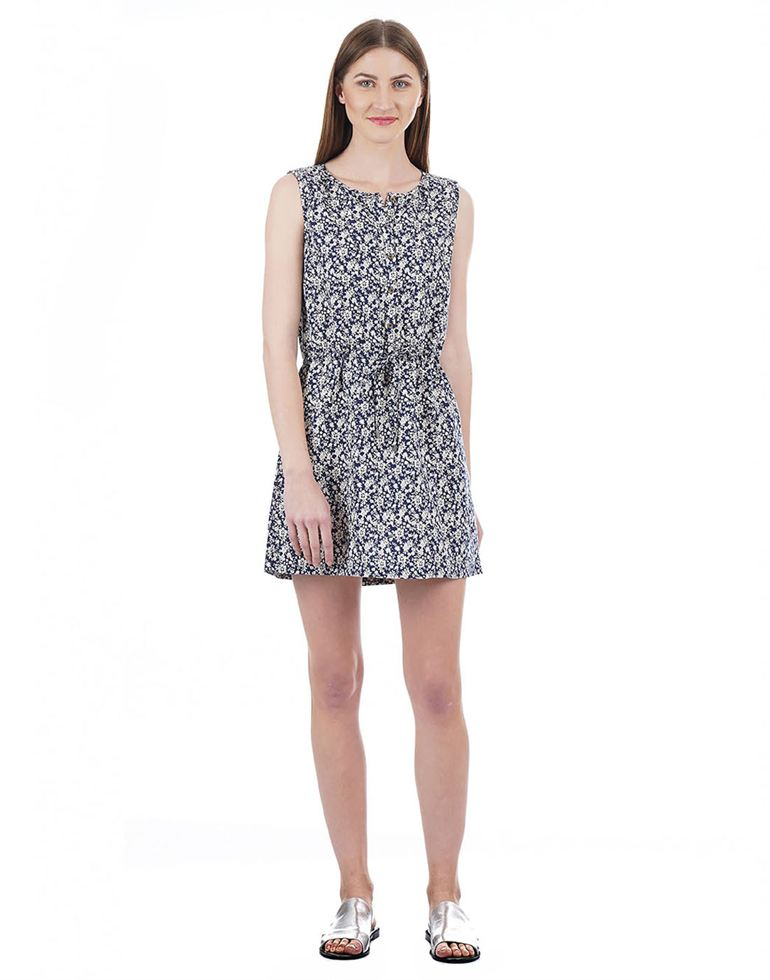 U.S. Polo Assn. Women Floral Print Casual Wear Dresses