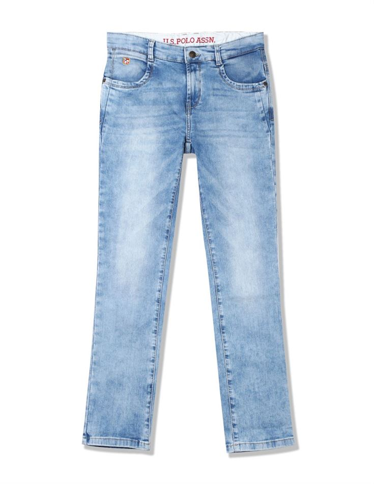 U.S. Polo Assn. Casual Wear Solid Boys Jeans