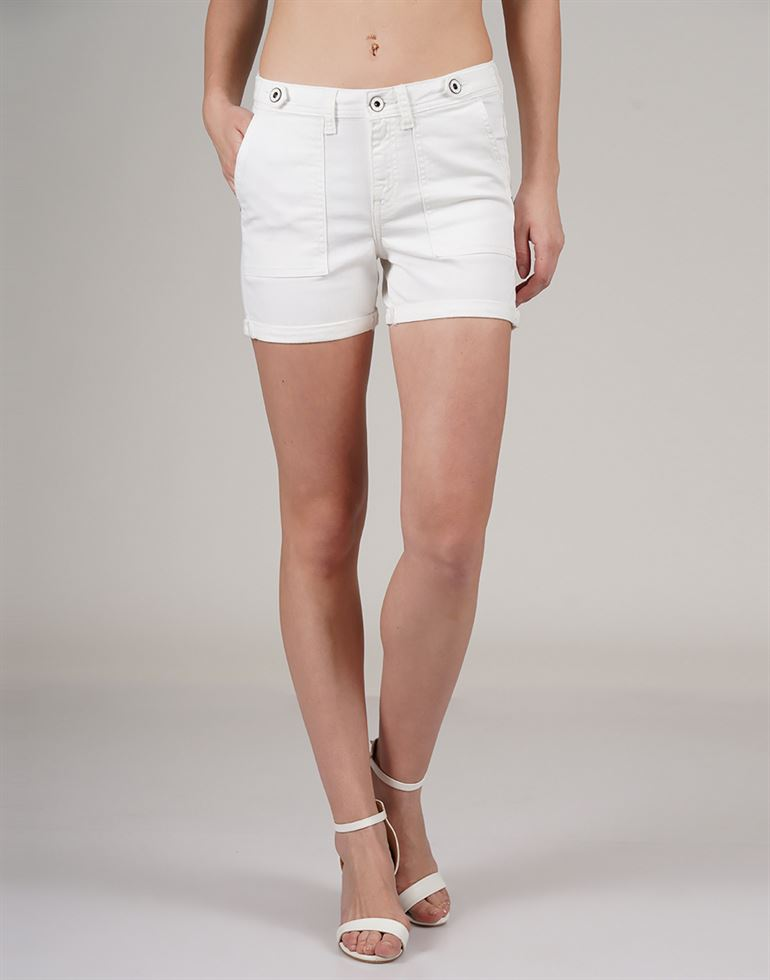 U.S.Polo Association Casual Wear Solid Women Shorts
