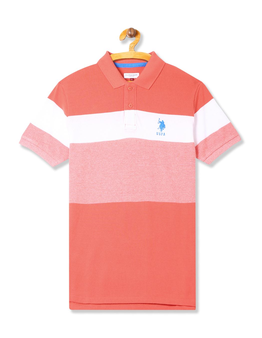 U.S. Polo Assn. Casual Wear Striped Boys T-Shirt