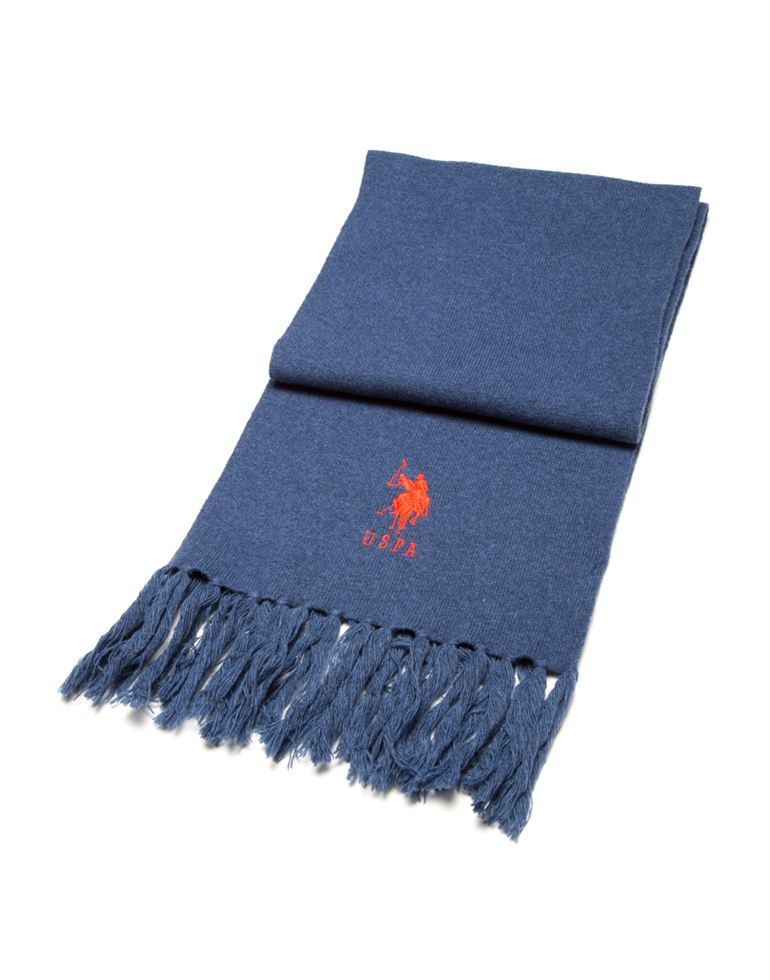 U.S. Polo Assn. Men Blue Muffler
