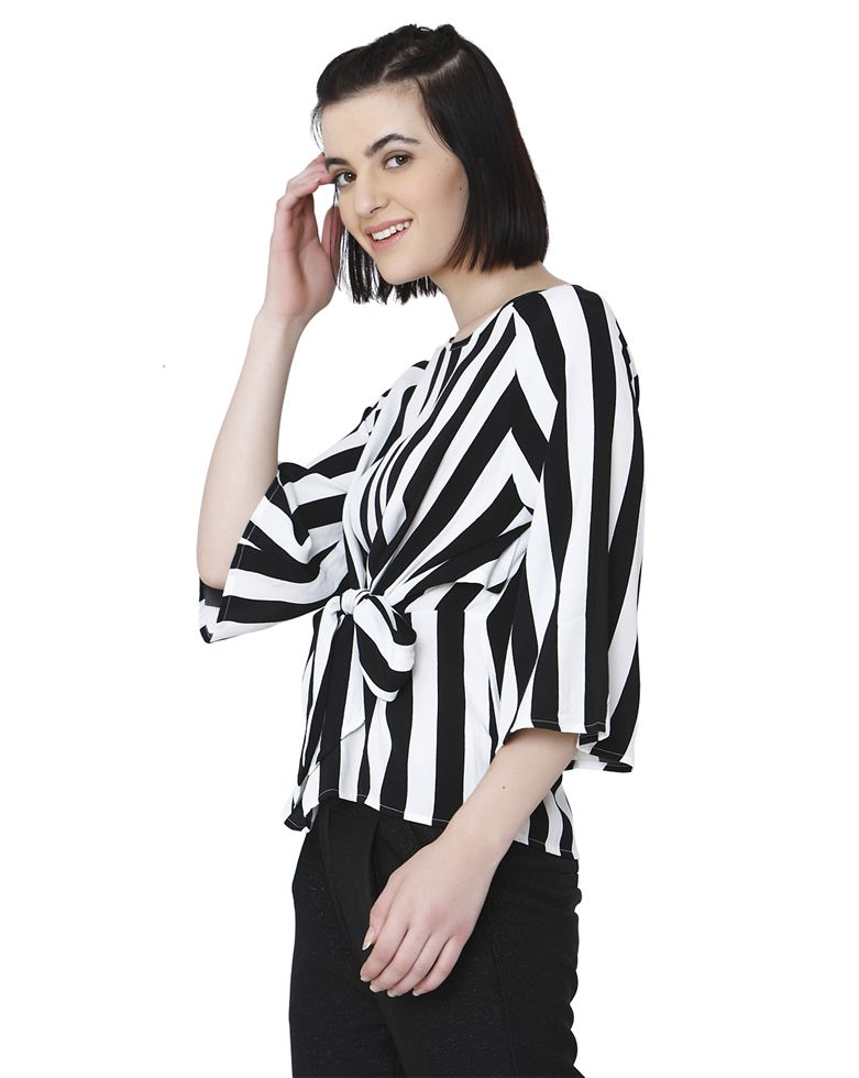 Vero Moda Women Casual Wear Striped Top