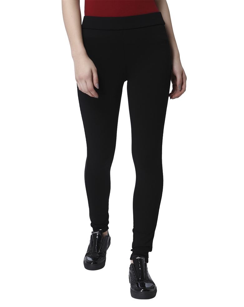 Vero Moda Women Black Leggings