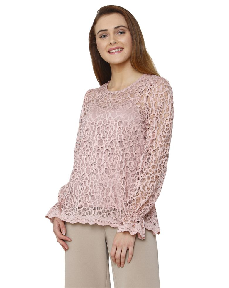 Vero Moda Women Casual Wear Lace Top