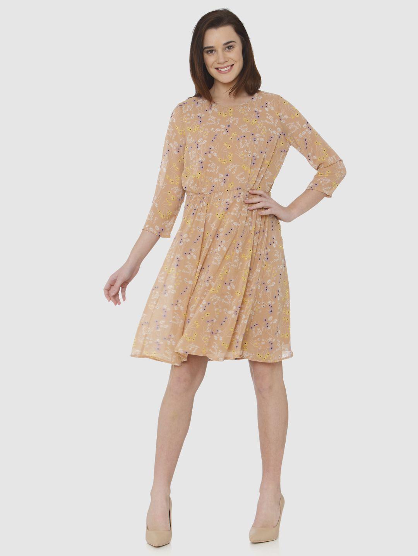 Vero Moda Women Floral Print Casual Wear Dresses