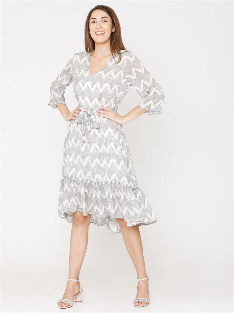 Vero Moda Women Printed Casual Wear Dresses