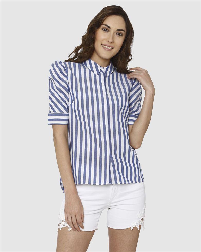 Vero Moda Women Striped Casual Wear Shirt