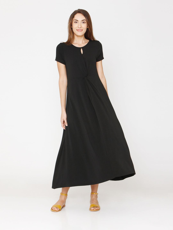 Vero Moda Women Solid Casual Wear Dresses