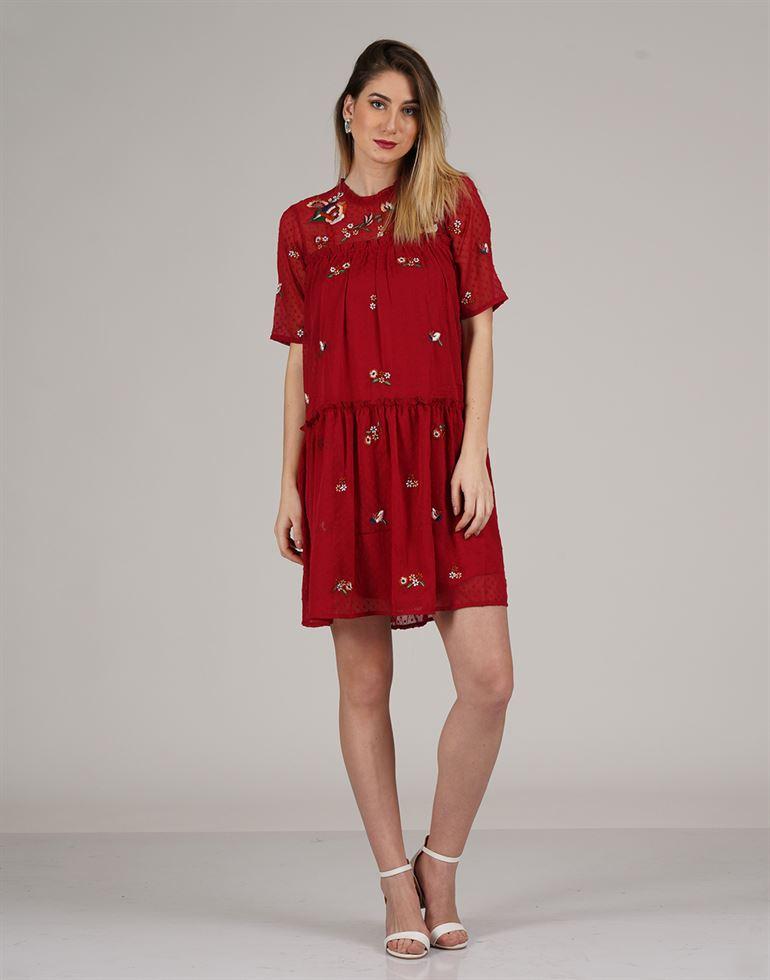 Zink London Casual Wear Embellished Women Top