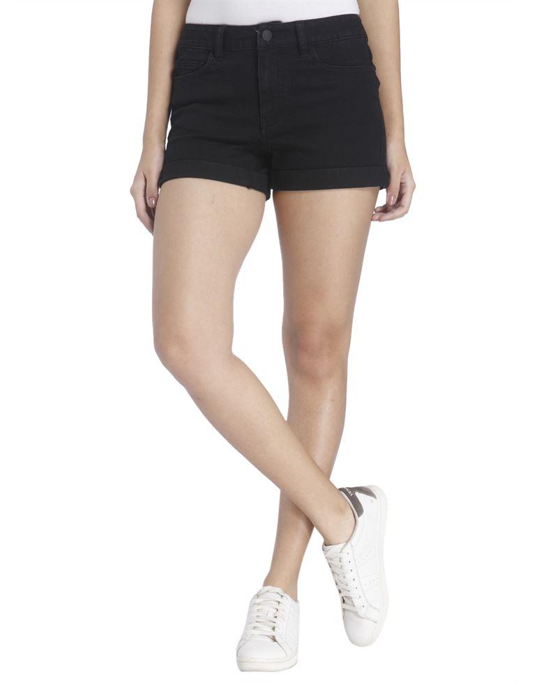 Vero Moda Women Black Shorts