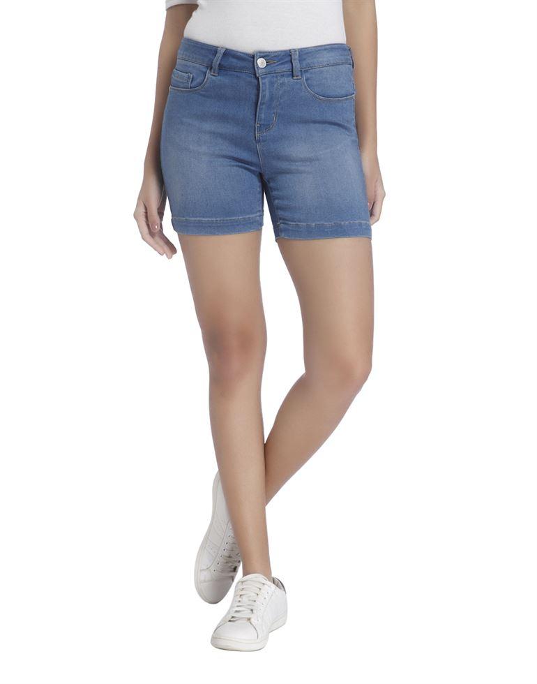 Vero Moda Women Blue Shorts