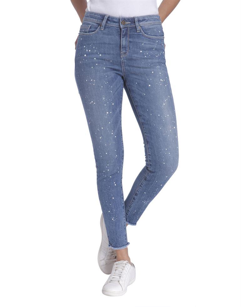 Vero Moda Women Casual Wear Self Design Jean