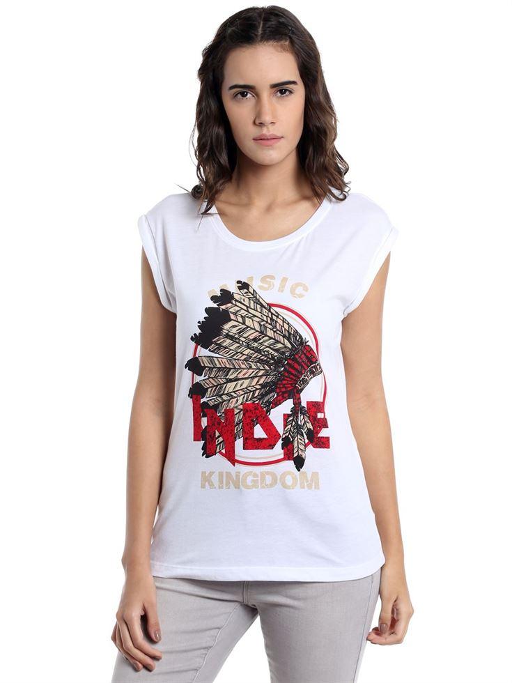 Vero Moda Women Casual Wear Embellished Top