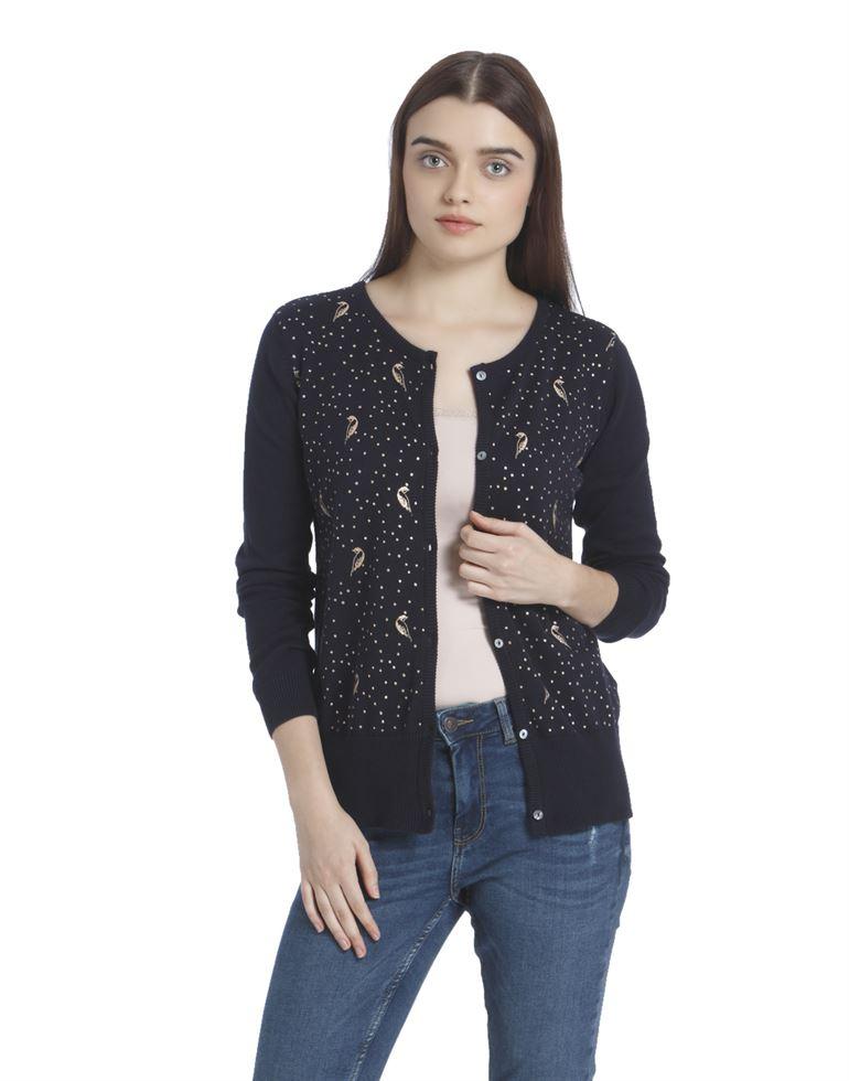 Vero Moda Women Casual Wear Printed Sweater