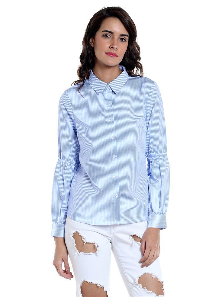 Vero Moda Women Casual Wear Striped Shirt