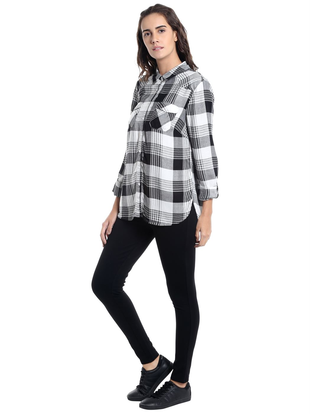 Vero Moda Women Casual Wear Checkered Shirt