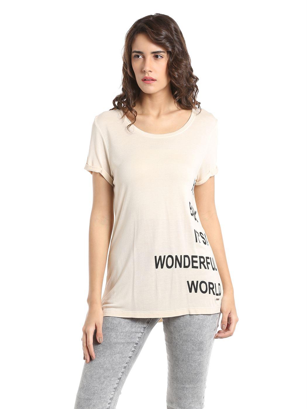 Vero Moda Women Casual Wear Printed T-Shirt