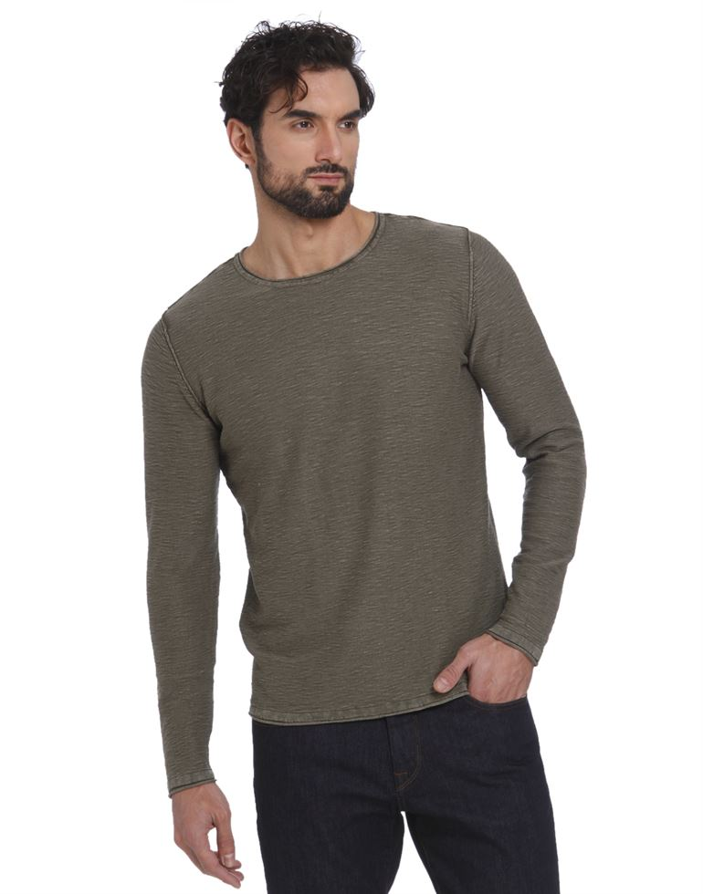 Selected Men Green Pullover
