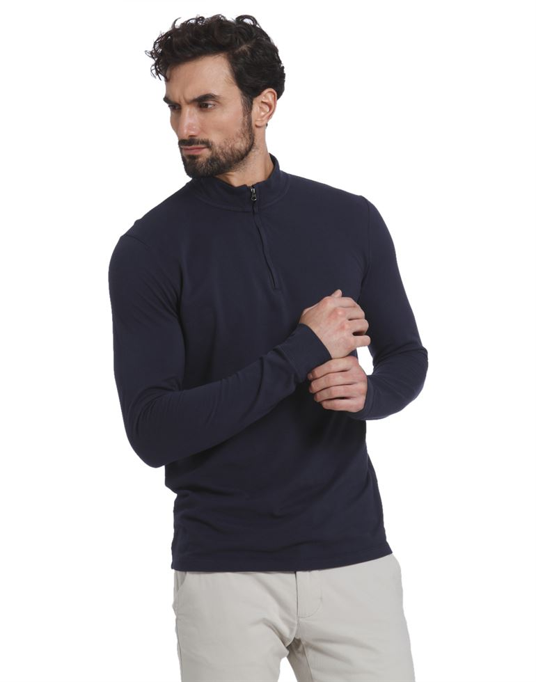 Selected Men Blue Pullover