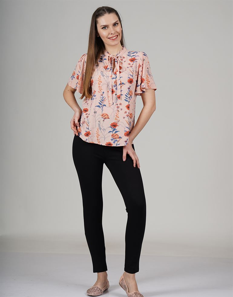 Cover Story Casual Printed Women Top