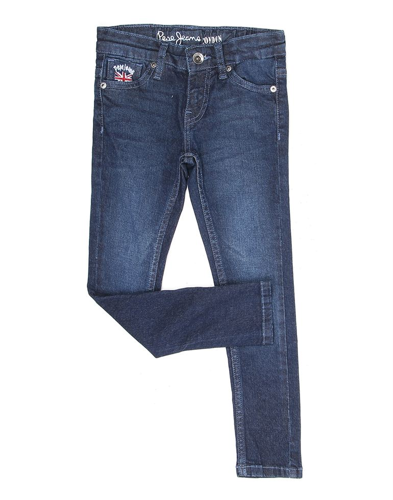 Pepe Jeans Girls Solid Casual Jean