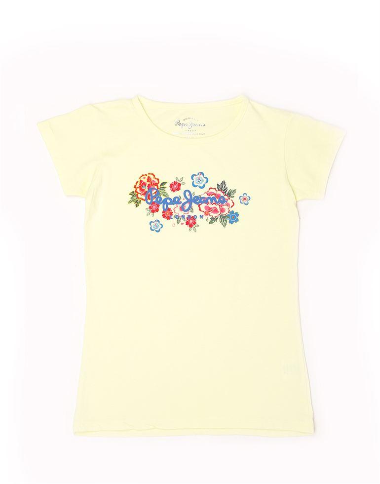 Pepe Jeans Girls Cotton T-Shirt