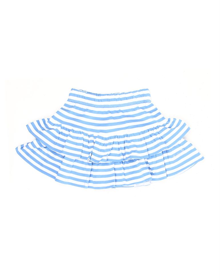 Pepe Jeans Girls Striped Casual Skirt