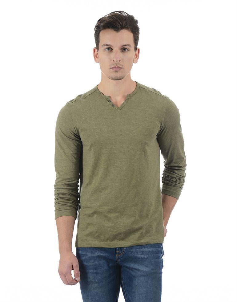 Celio Casual Solid Men T-Shirt
