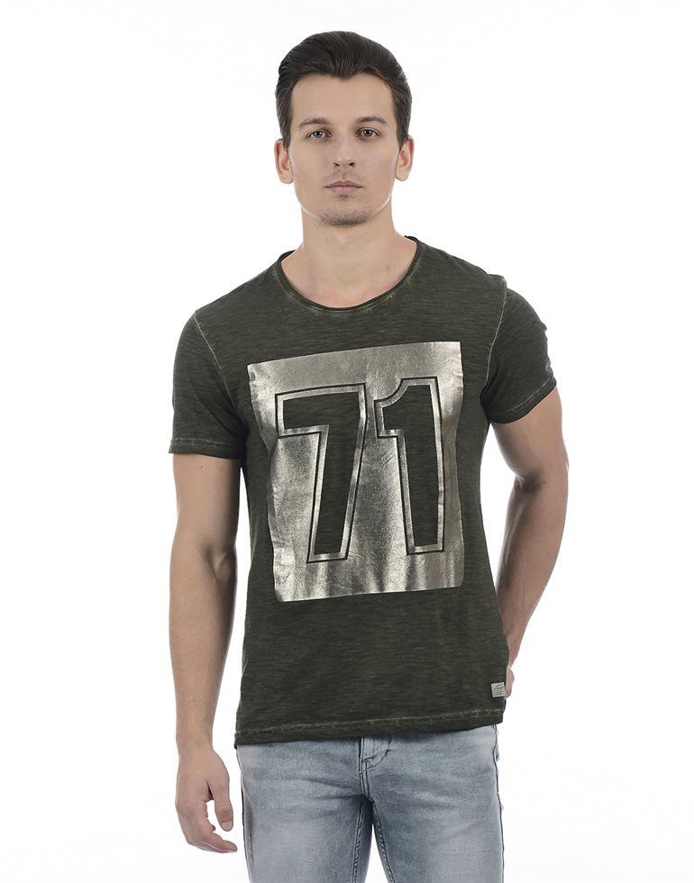 Ed Hardy Casual Printed Men T-Shirt