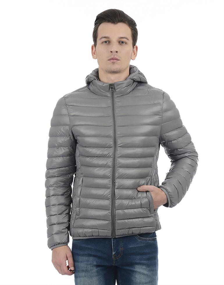 London Fog Men Casual Wear Solid Jacket