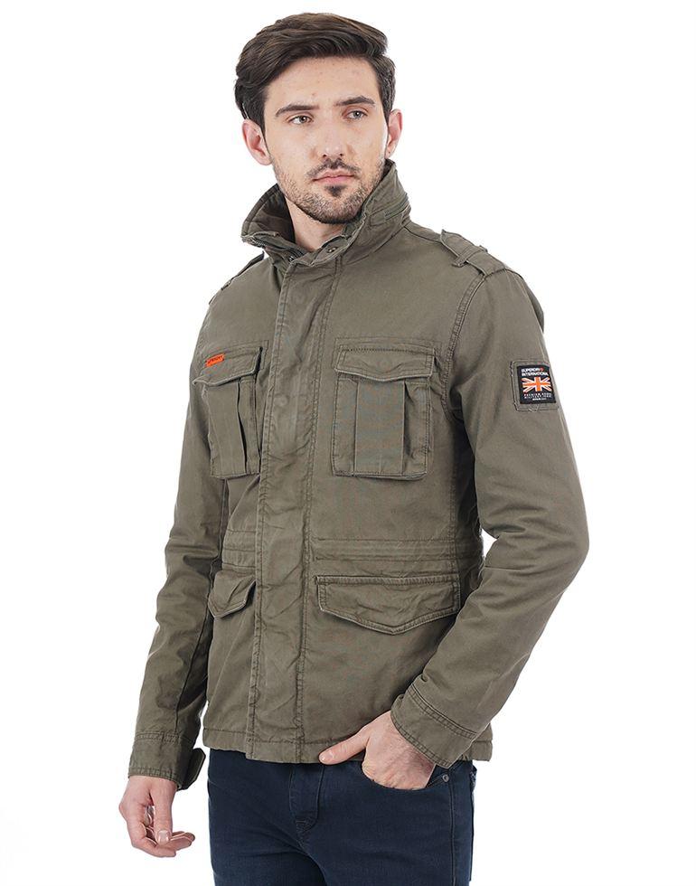 Superdry Men Khaki Jacket