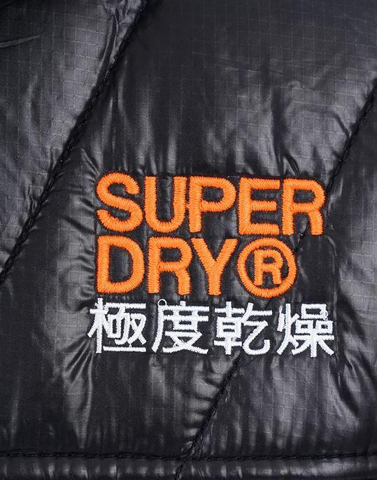 Superdry Men Black Jacket