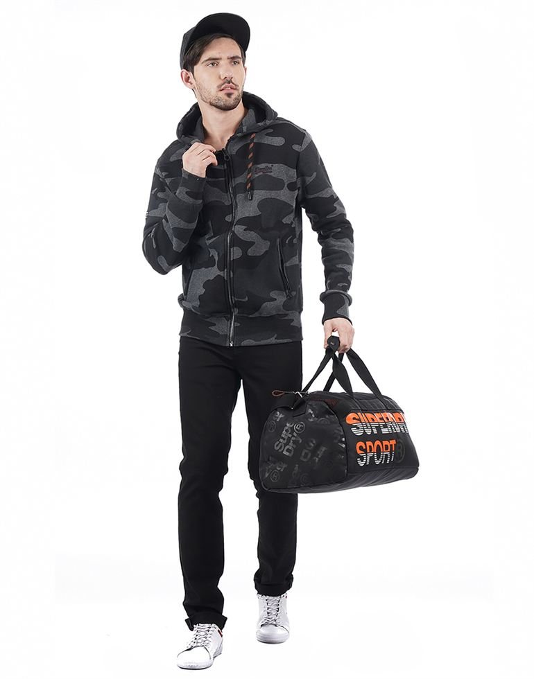 Superdry Casual Military Camouflage Men Sweatshirt