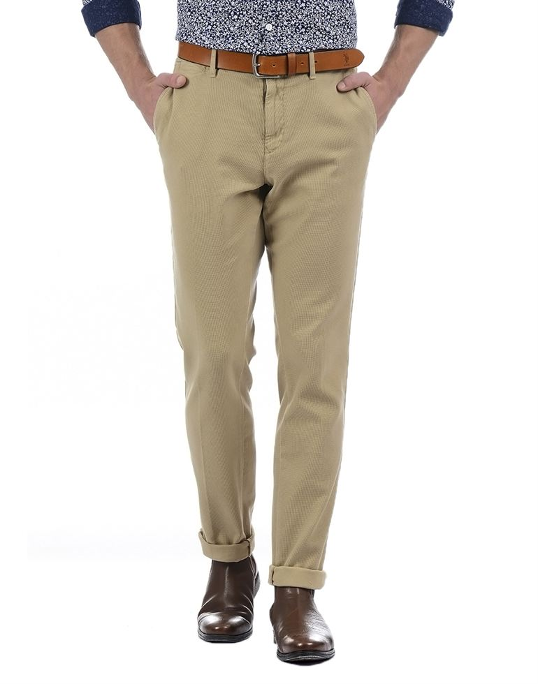 Tommy Hilfiger Casual Solid Men Pant n Trouser
