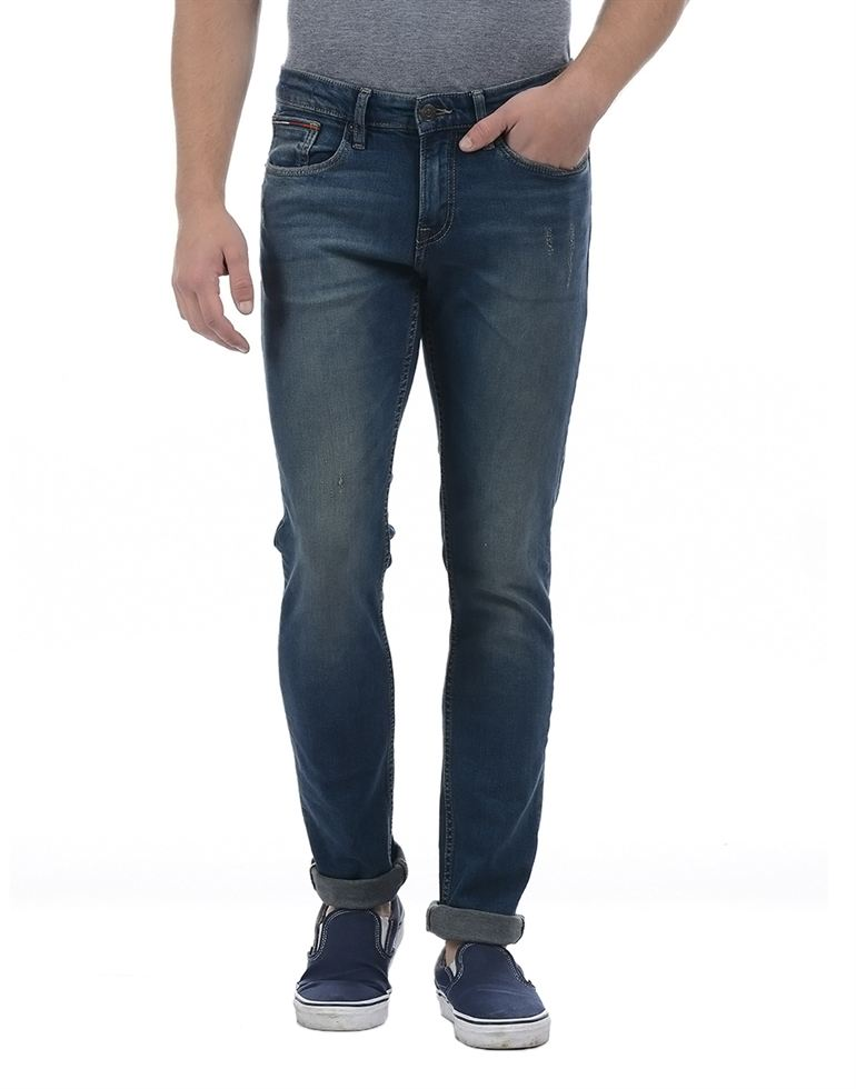 Tommy Hilfiger Men Blue Jeans