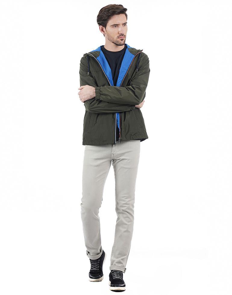 Tommy Hilfiger Casual Solid Men Jacket