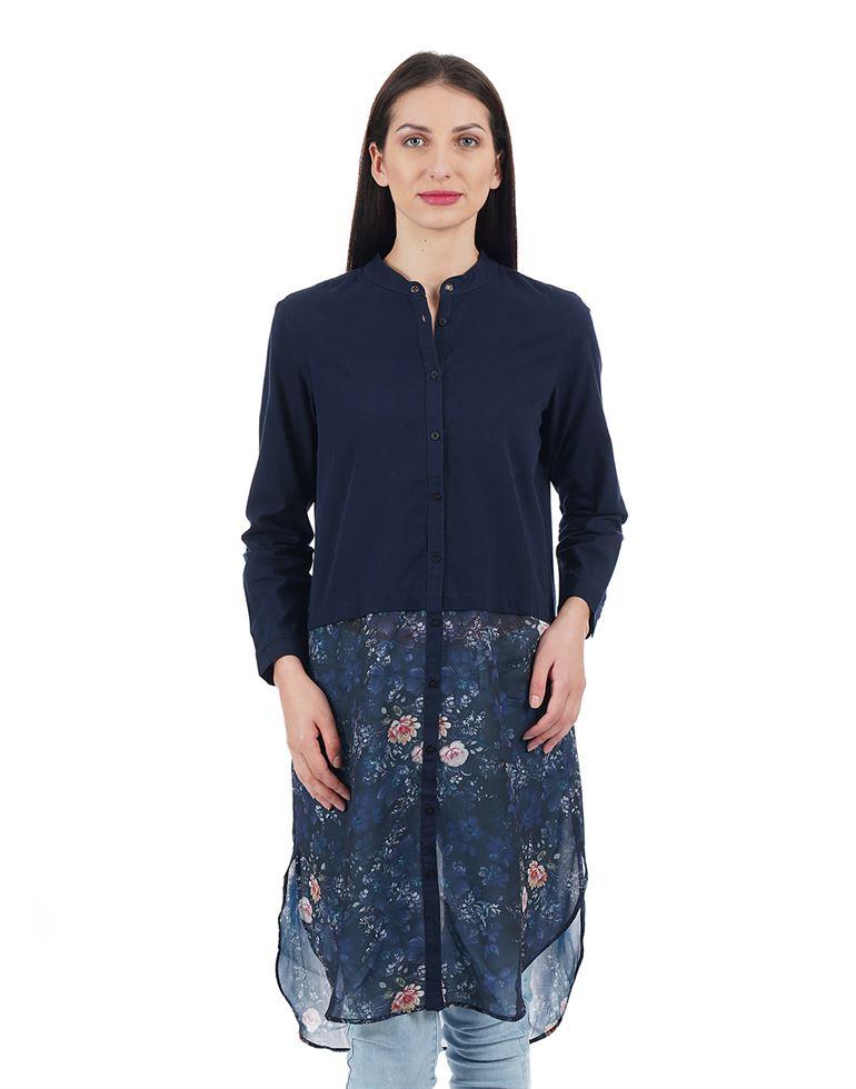 Elle Women Casual Wear Printed Shirt