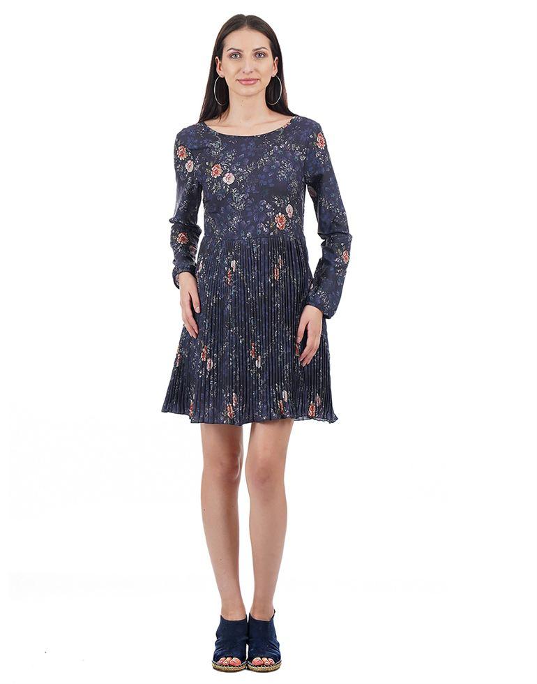 Elle Women Casual Wear Printed Dress