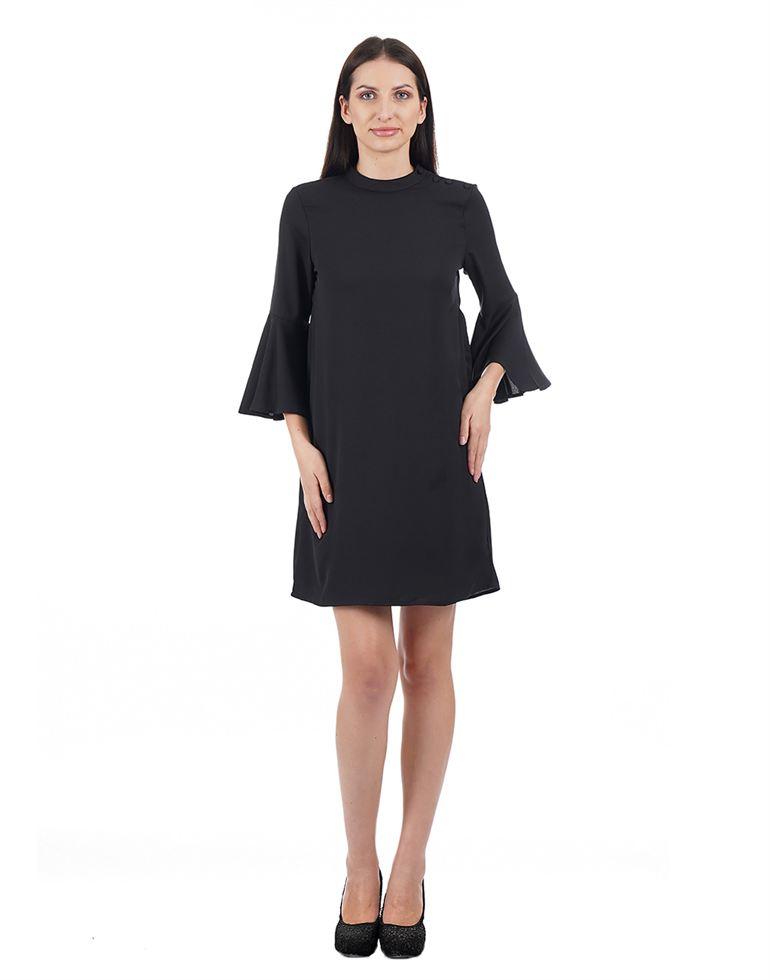 Elle Women Casual Wear Solid Dress