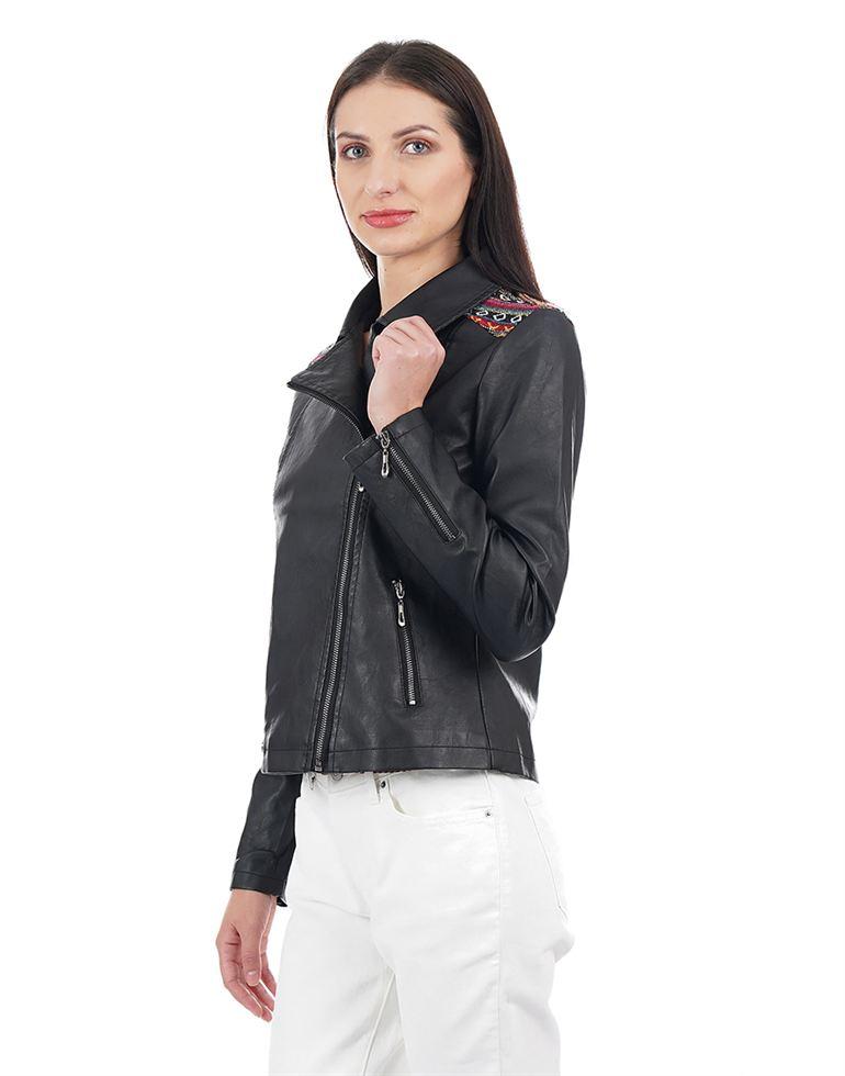 Elle Casual Solid Women Jacket