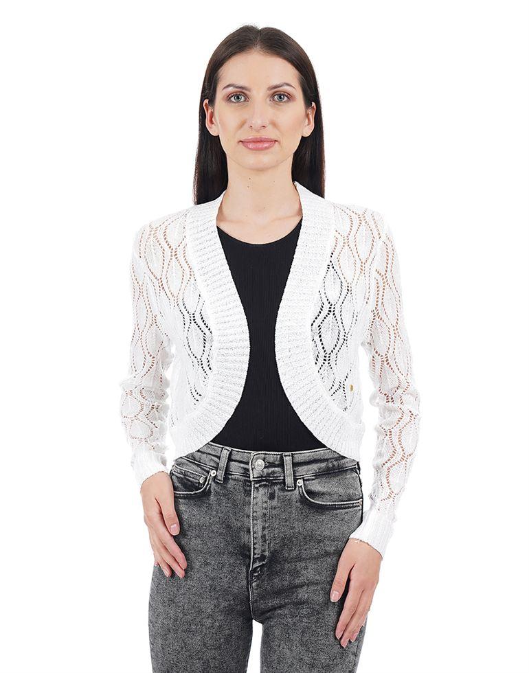 Elle Women Casual Wear Solid Shrug