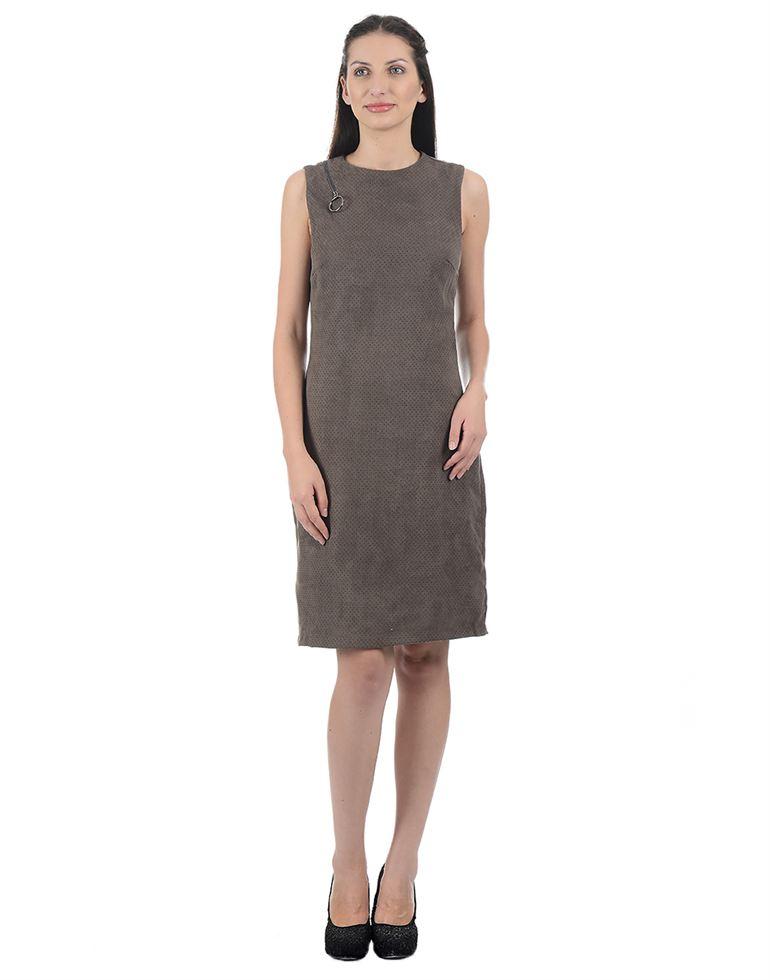Kazo Casual Polka Print Women Dresses