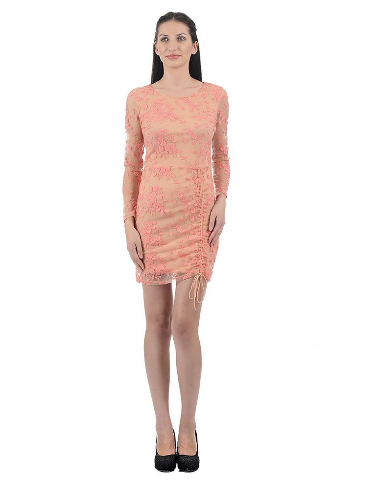 Kazo Casual Embroidered Women Dresses