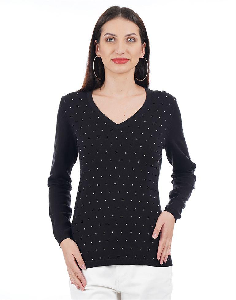 Tommy Hilfiger Women Casual Wear Solid Sweater