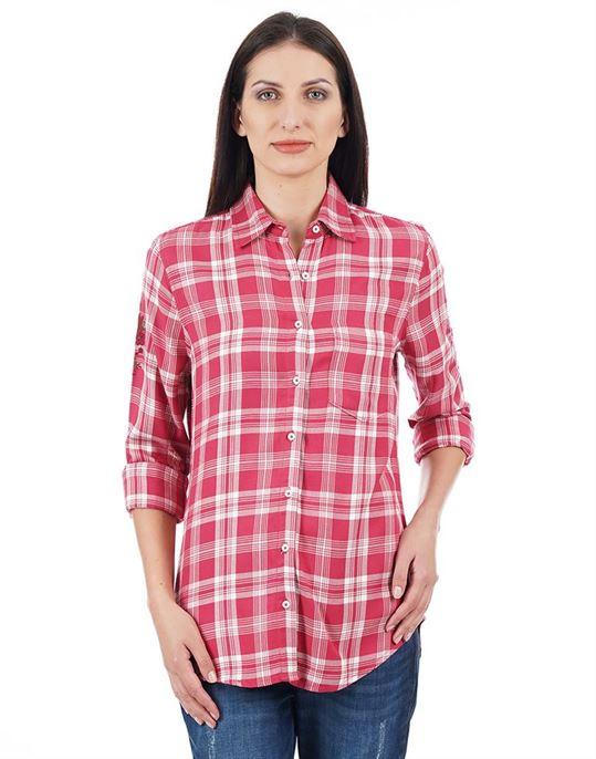 Aeropostale Casual Checkered Women Shirt