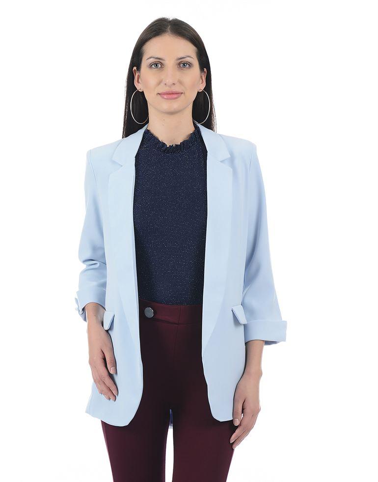 Cover Story Women Blue Blazer