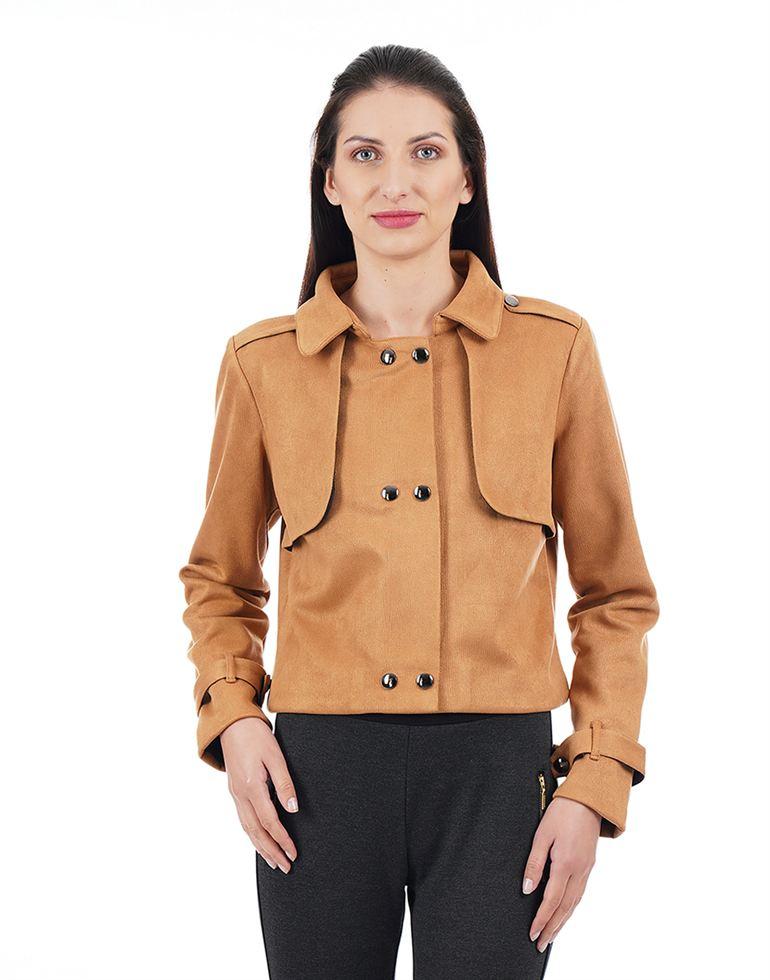 Kazo Casual Solid Women Jacket